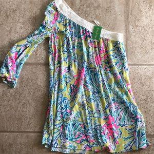 NWT Lilly Pulitzer dress, size small, lemon drop